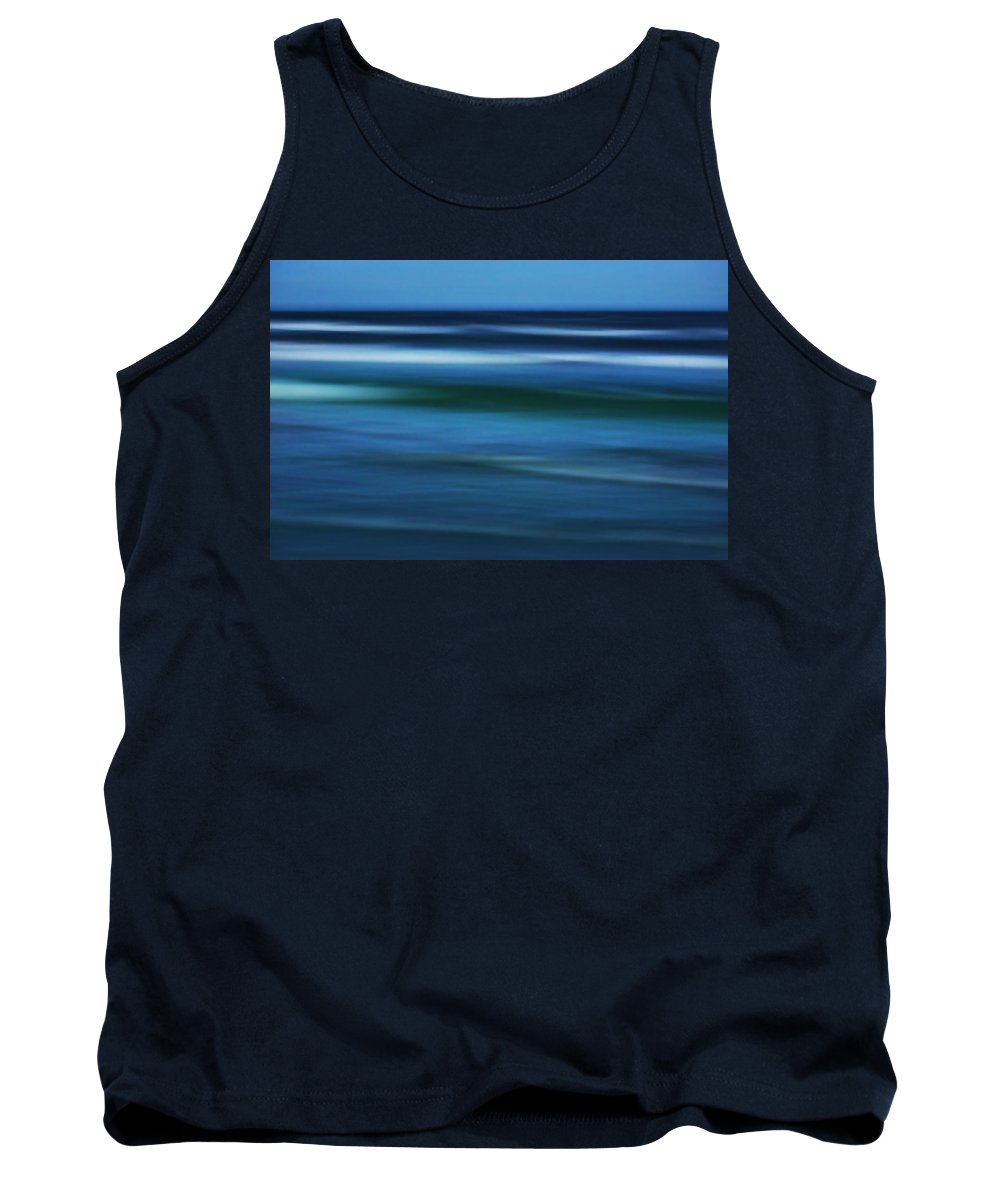 Corpus Christi Tank Top featuring the photograph Gulf Of Mexico by Marilyn Hunt