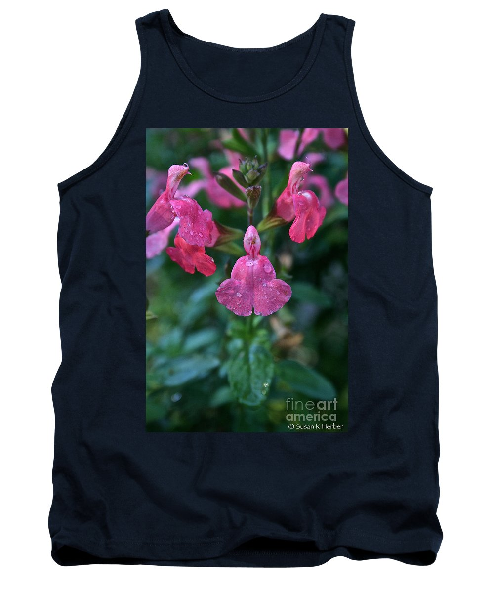 Landscape Tank Top featuring the photograph Heatwave Blast Sage by Susan Herber
