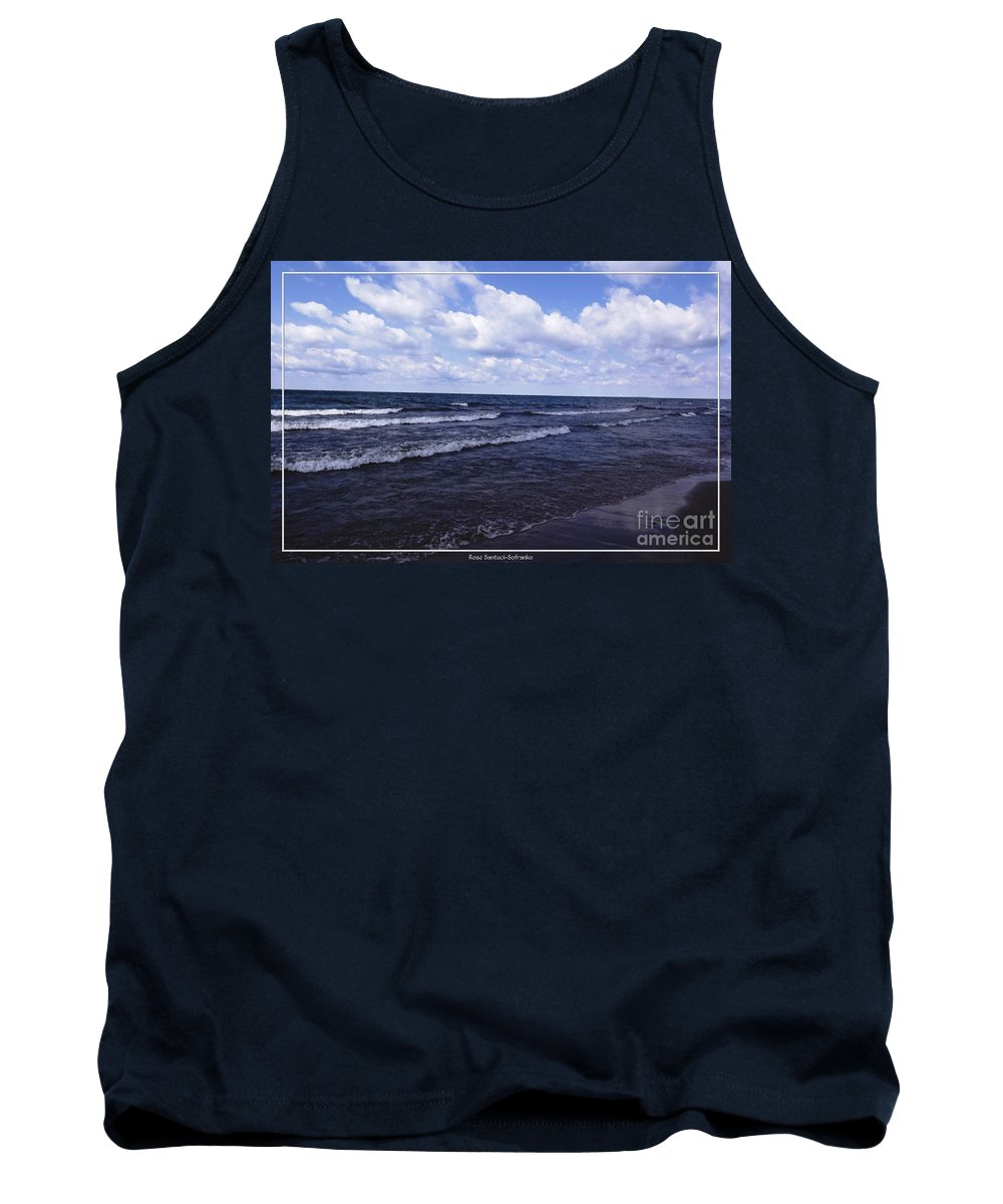 Evangola State Park Tank Top featuring the photograph Lake Erie At Evangola State Park 2 by Rose Santuci-Sofranko