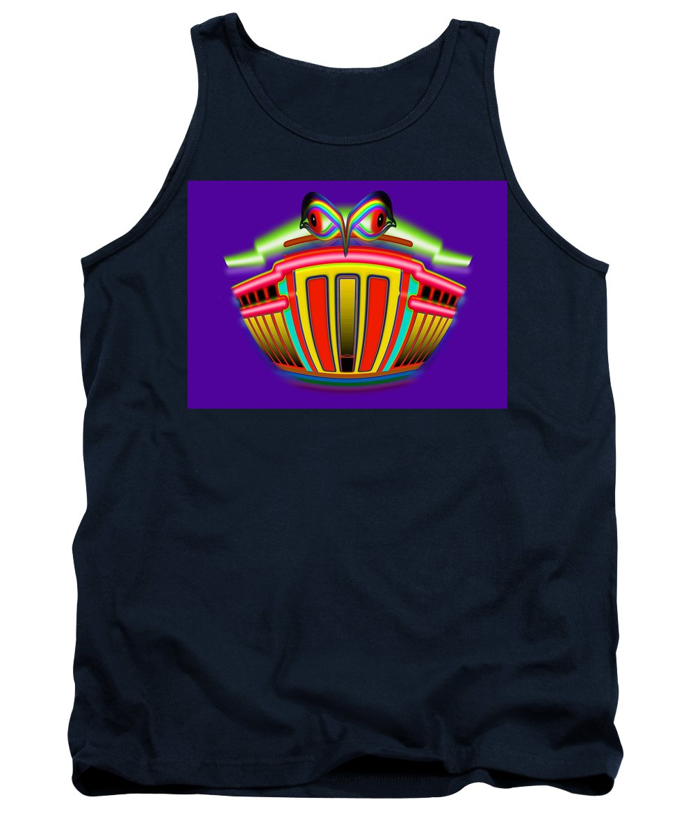 Bank Tank Top featuring the painting Mother Lode by Charles Stuart