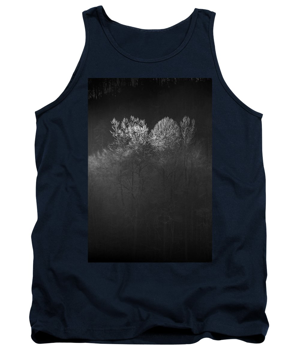 Landscape Tank Top featuring the photograph Mountain Morning by Gray Artus