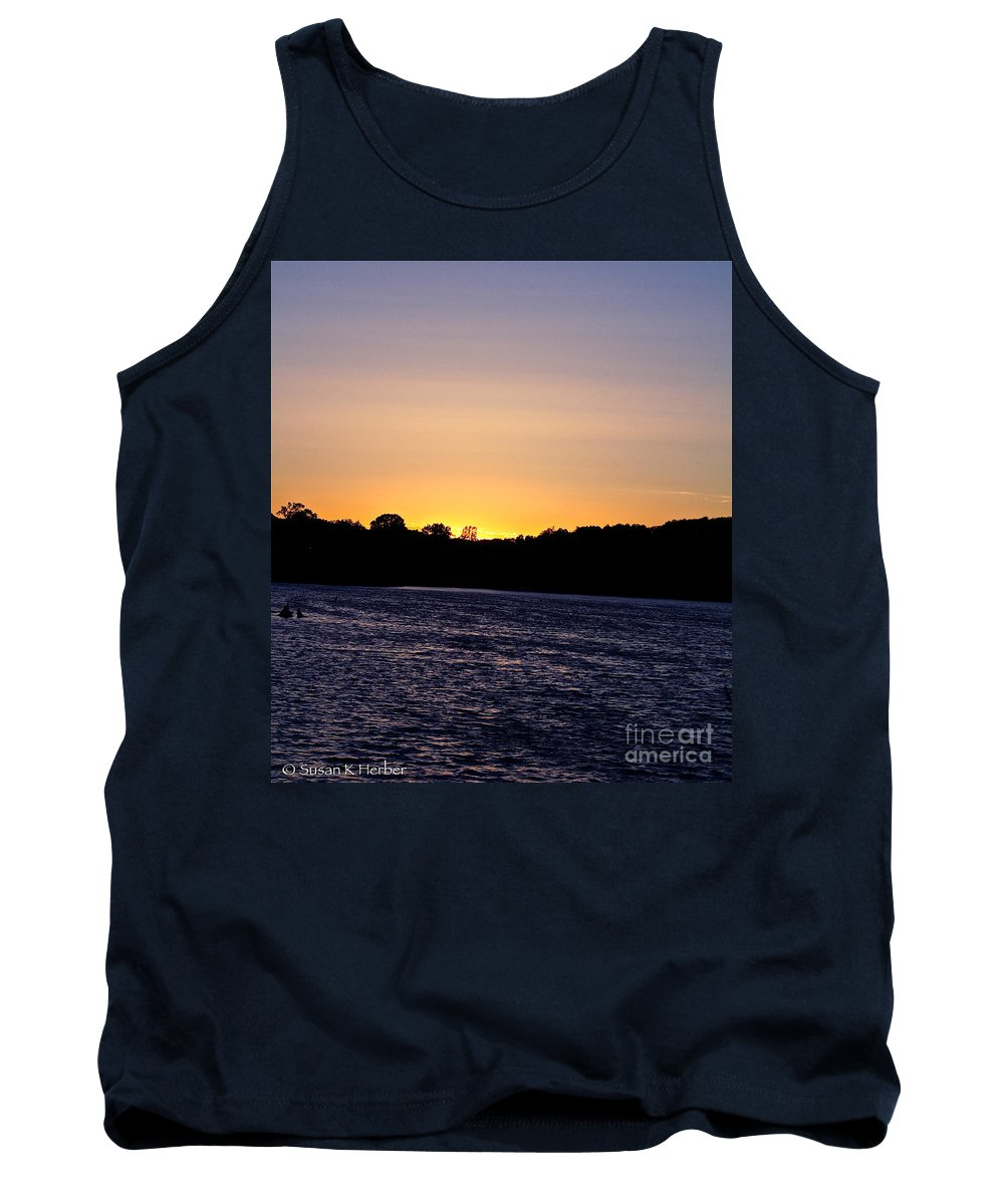 Minnesota Tank Top featuring the photograph Natural Pastels by Susan Herber