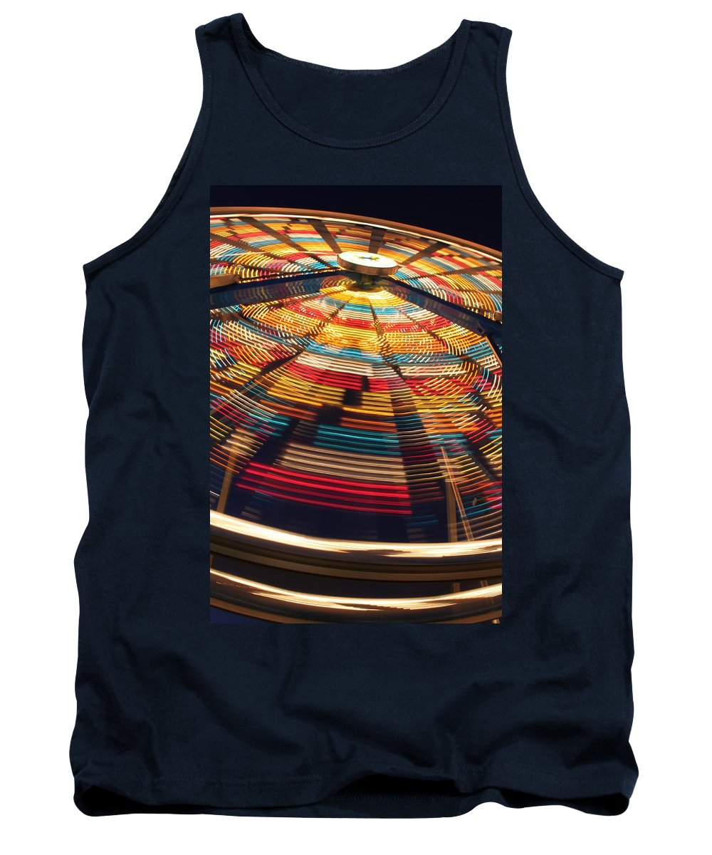 Ferris Tank Top featuring the photograph One More Ride by Lauri Novak