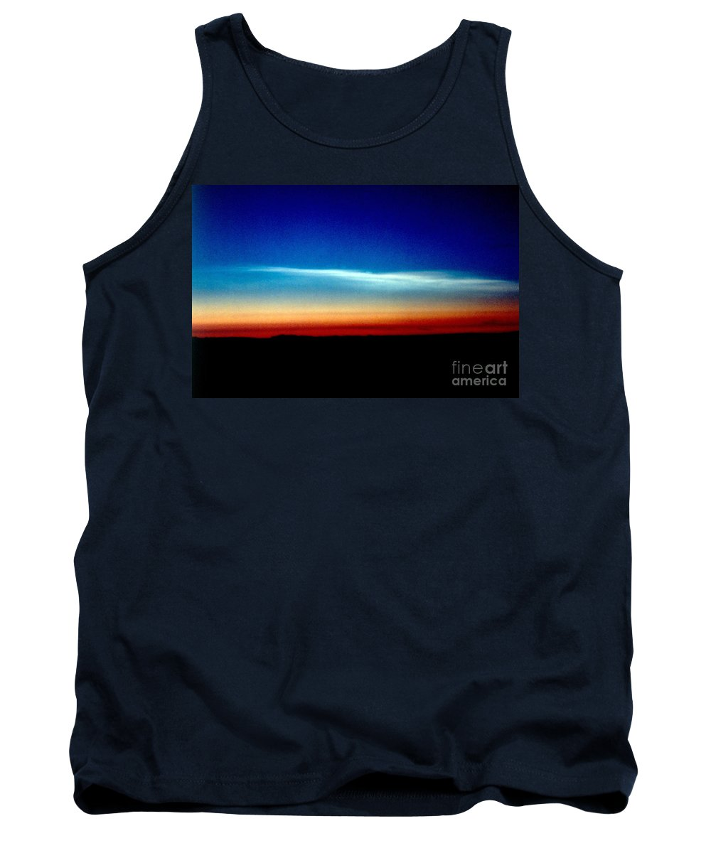 Type I Tank Top featuring the photograph Polar Stratospheric Clouds by Nasa