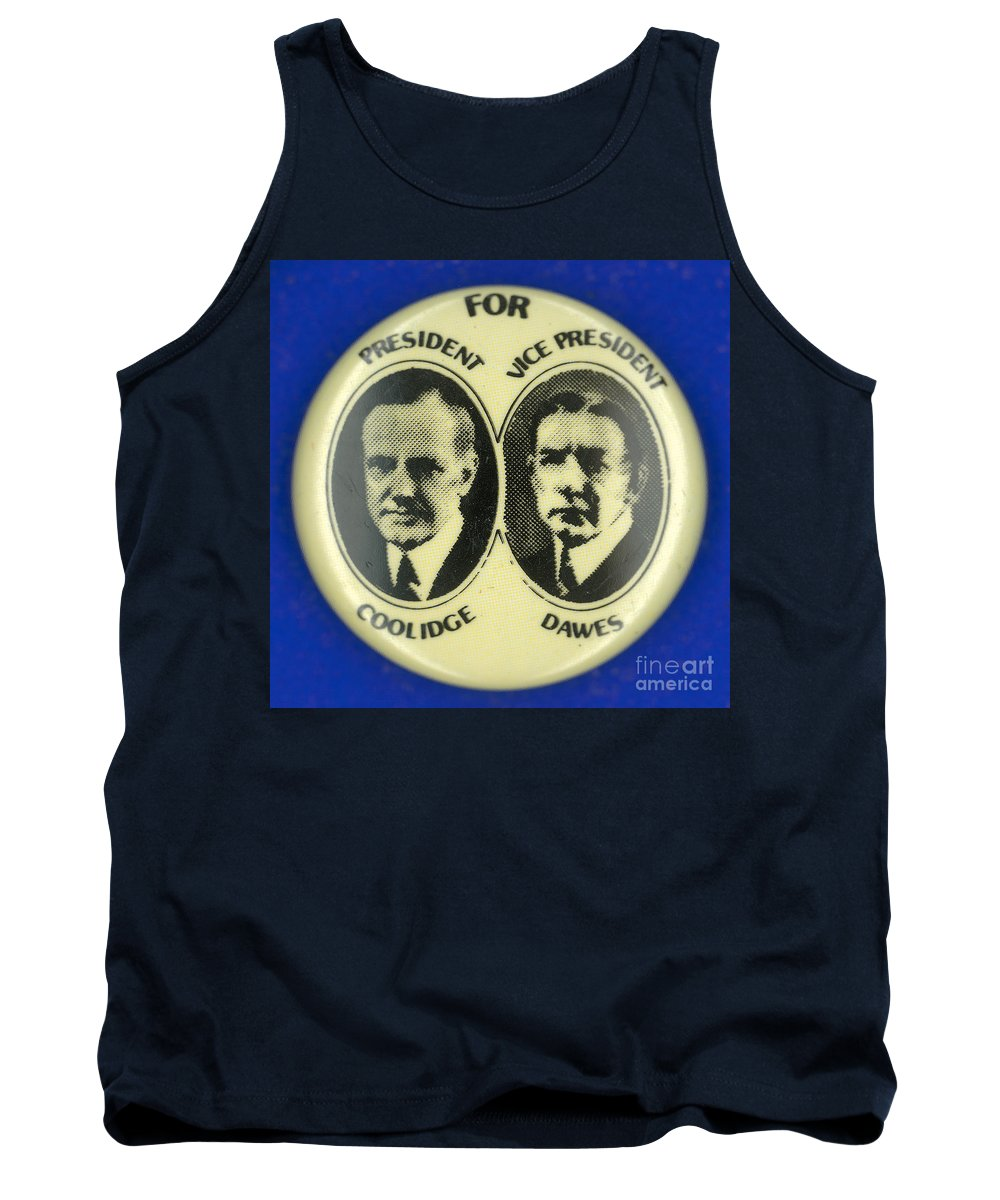 1924 Tank Top featuring the photograph Presidential Campaign, 1924 by Granger