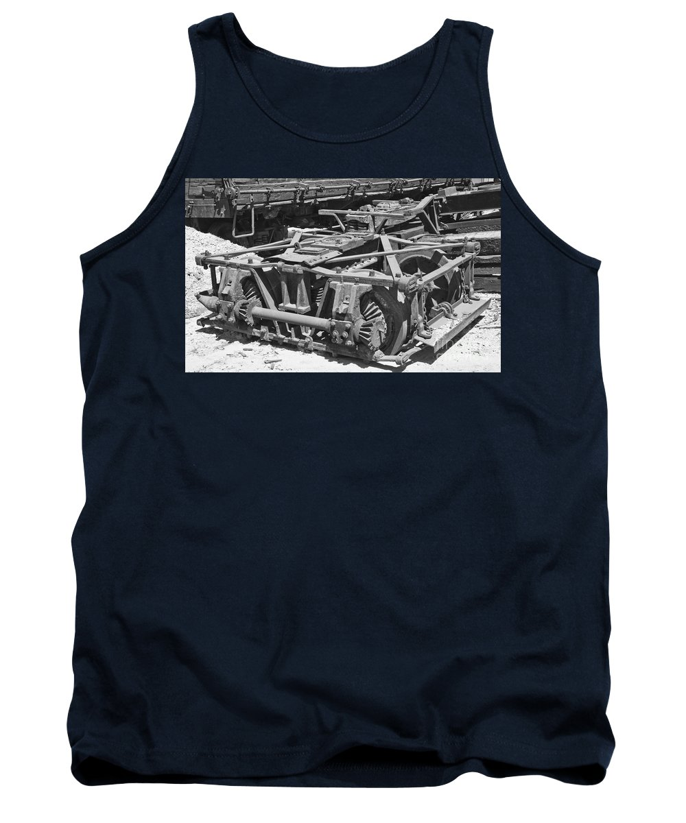 Shay Tank Top featuring the photograph Shay Truck by Tim Mulina