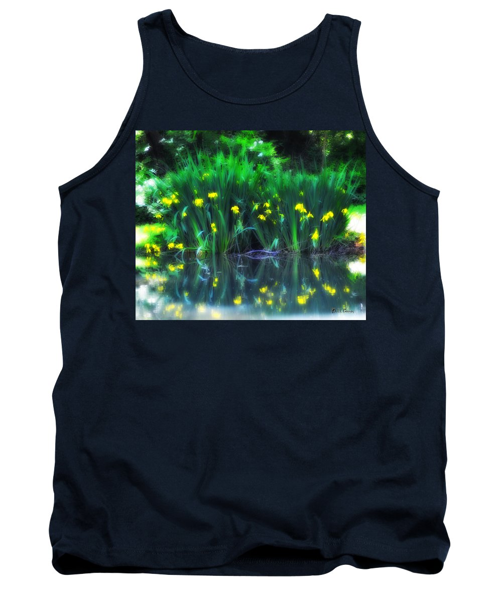 Spring Reflections Tank Top featuring the photograph Spring Reflections by Bill Cannon