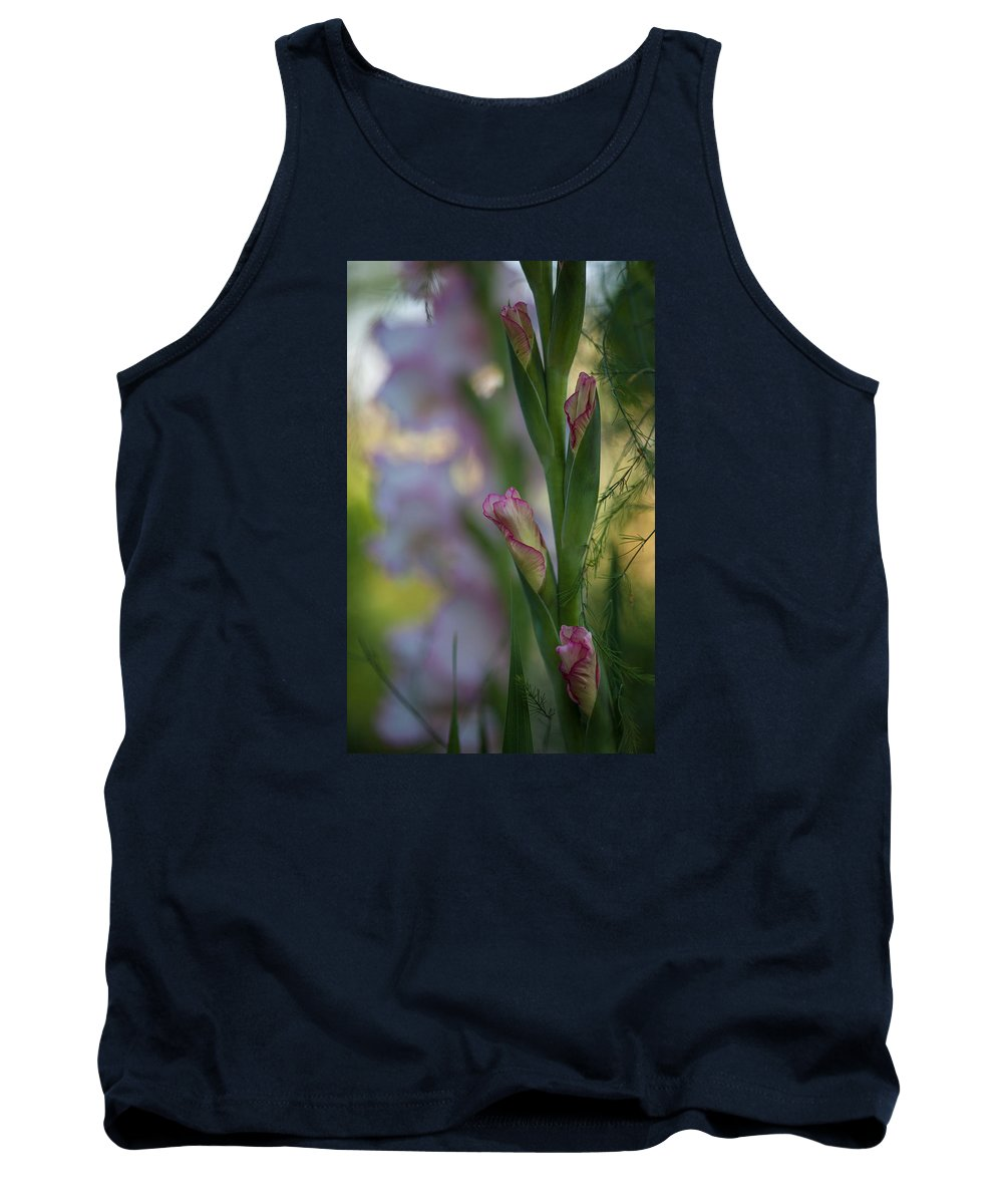 Flower Tank Top featuring the photograph Stalk Of Light by Mike Reid