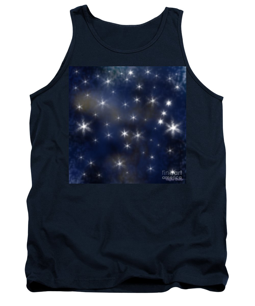 Clay Tank Top featuring the photograph Starry Night by Clayton Bruster