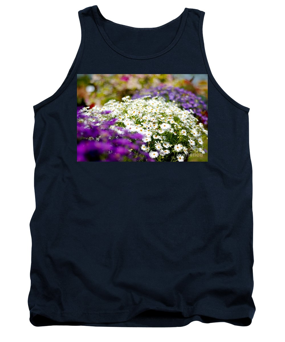Flower Tank Top featuring the photograph The Symmetry by Syed Aqueel