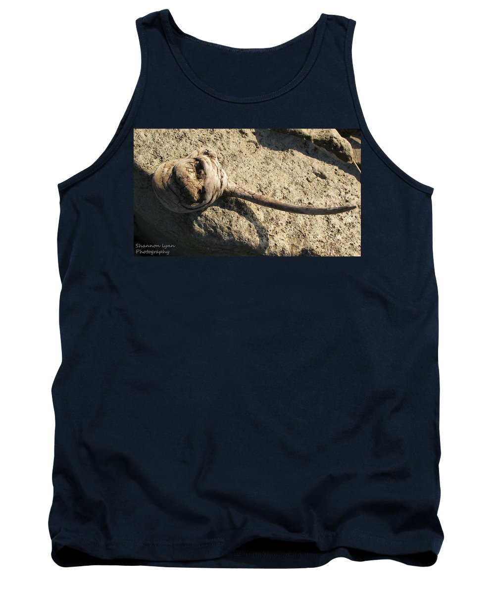 Driftwood Tank Top featuring the photograph Unusual Driftwood by Shannon Nolting