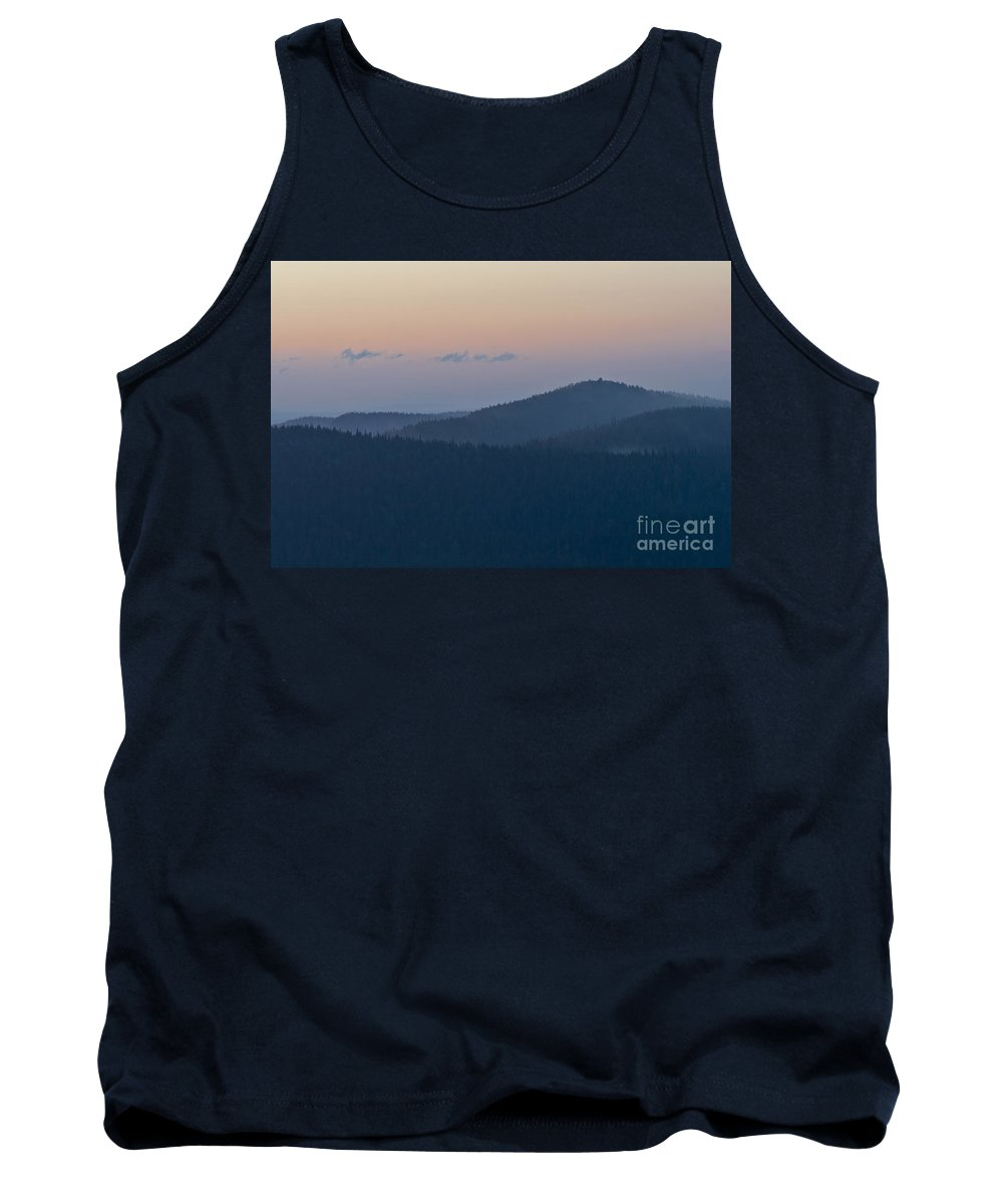 Europe Tank Top featuring the photograph Valtavaara Hill by Heiko Koehrer-Wagner