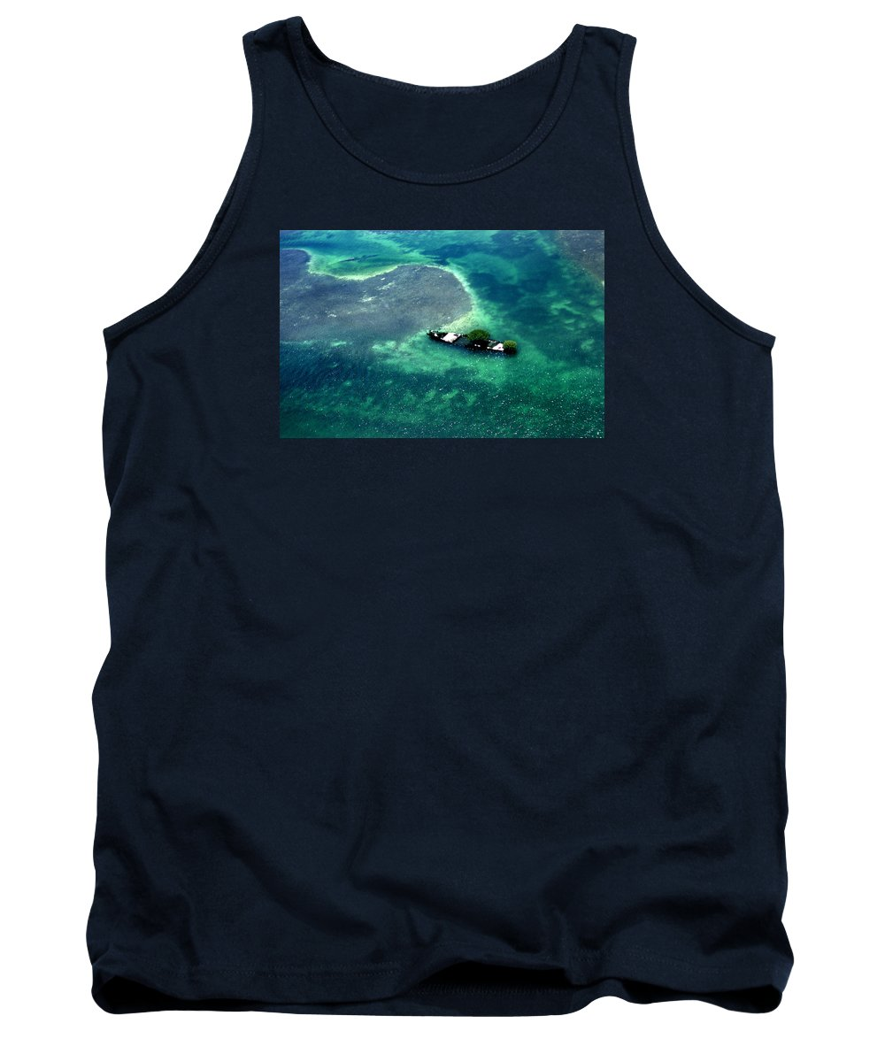 Key West Tank Top featuring the photograph West By West Of Key West by Skip Willits