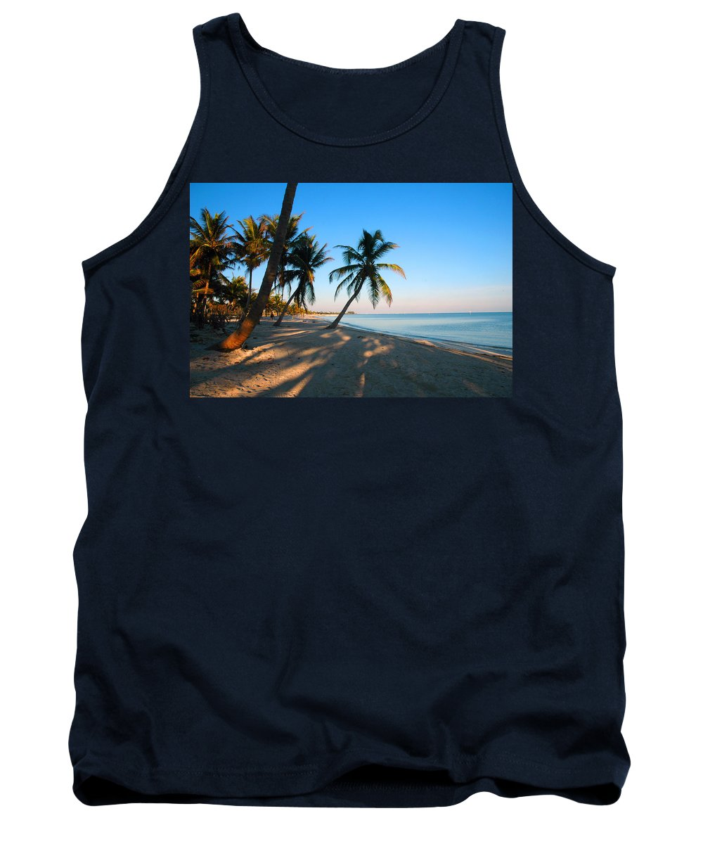 Photography Tank Top featuring the photograph Last Sunbeams by Susanne Van Hulst
