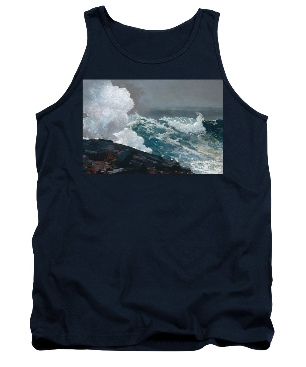 Northeaster Tank Top featuring the painting Northeaster, 1895 by Winslow Homer