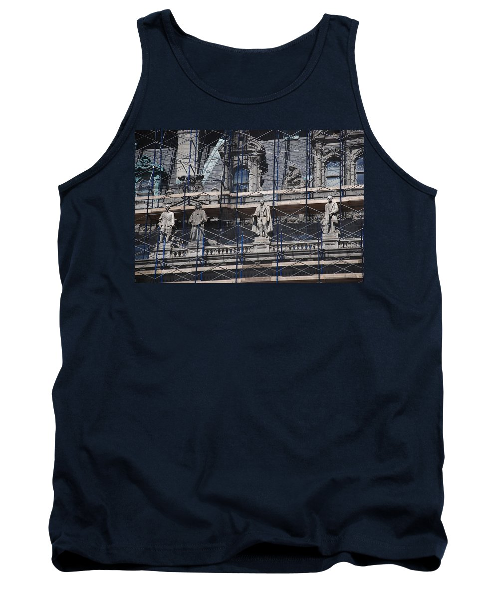 Street Scene Tank Top featuring the photograph The Wiseguys by Rob Hans