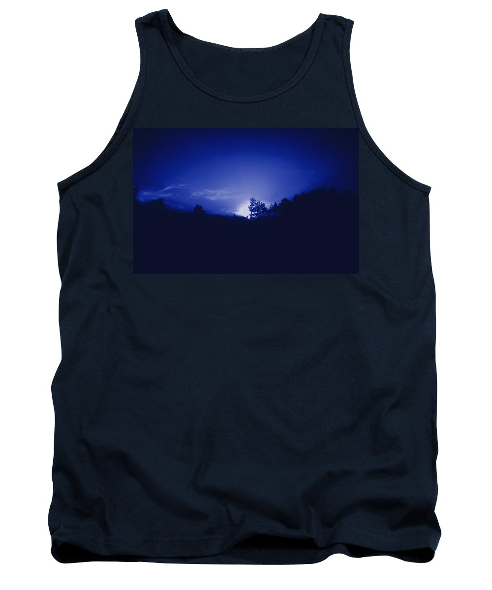Sky Tank Top featuring the photograph Where The Smurfs Live 2 by Max Mullins