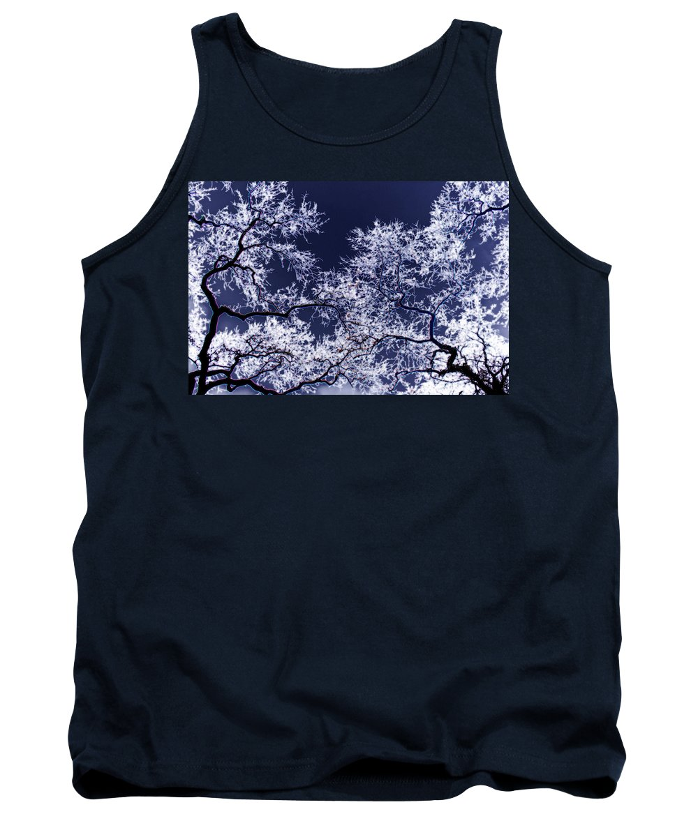 Tree Tank Top featuring the photograph Tree Fantasy 17 by Lee Santa