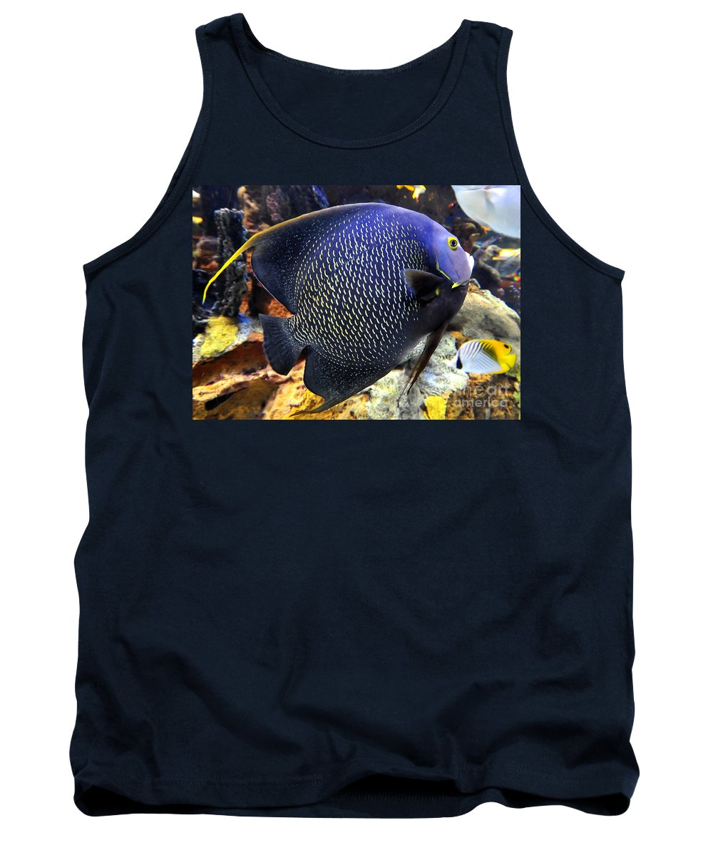 Tropical Fish Tank Top featuring the photograph Tropical Wonder by David Lee Thompson