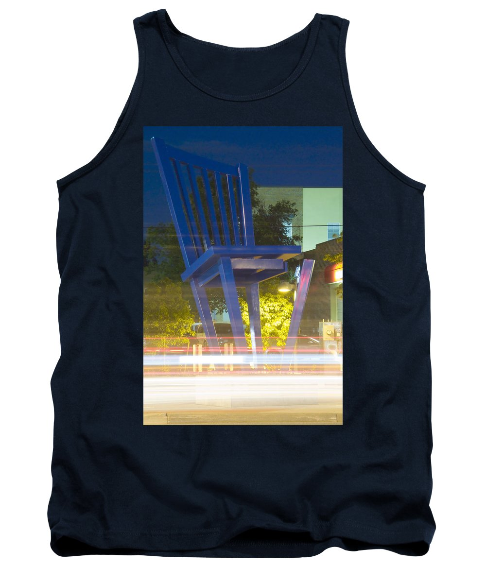 Unglued Tank Top featuring the photograph Unglued by Jeffery Ball