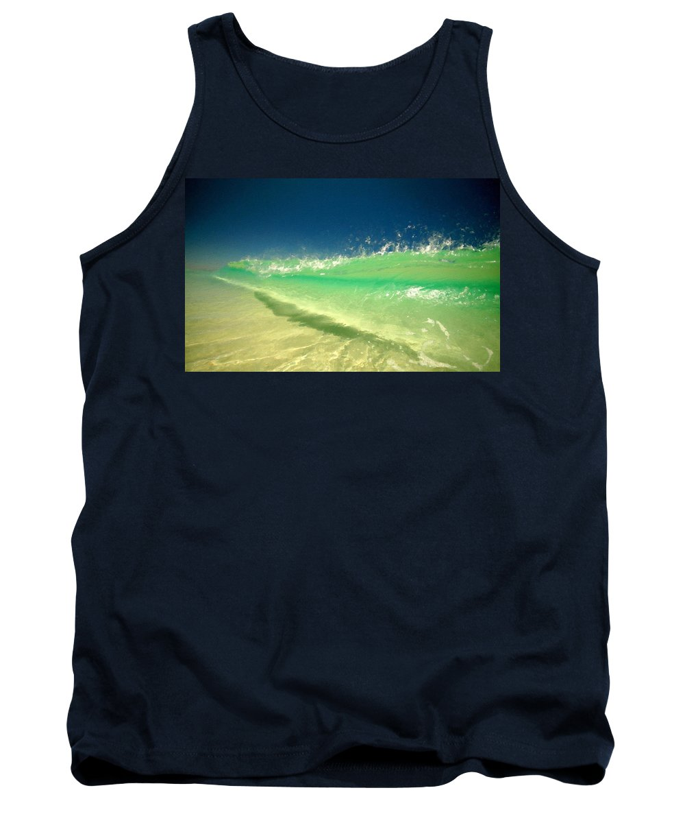 W Tank Top featuring the digital art Landscaped by Usa Map