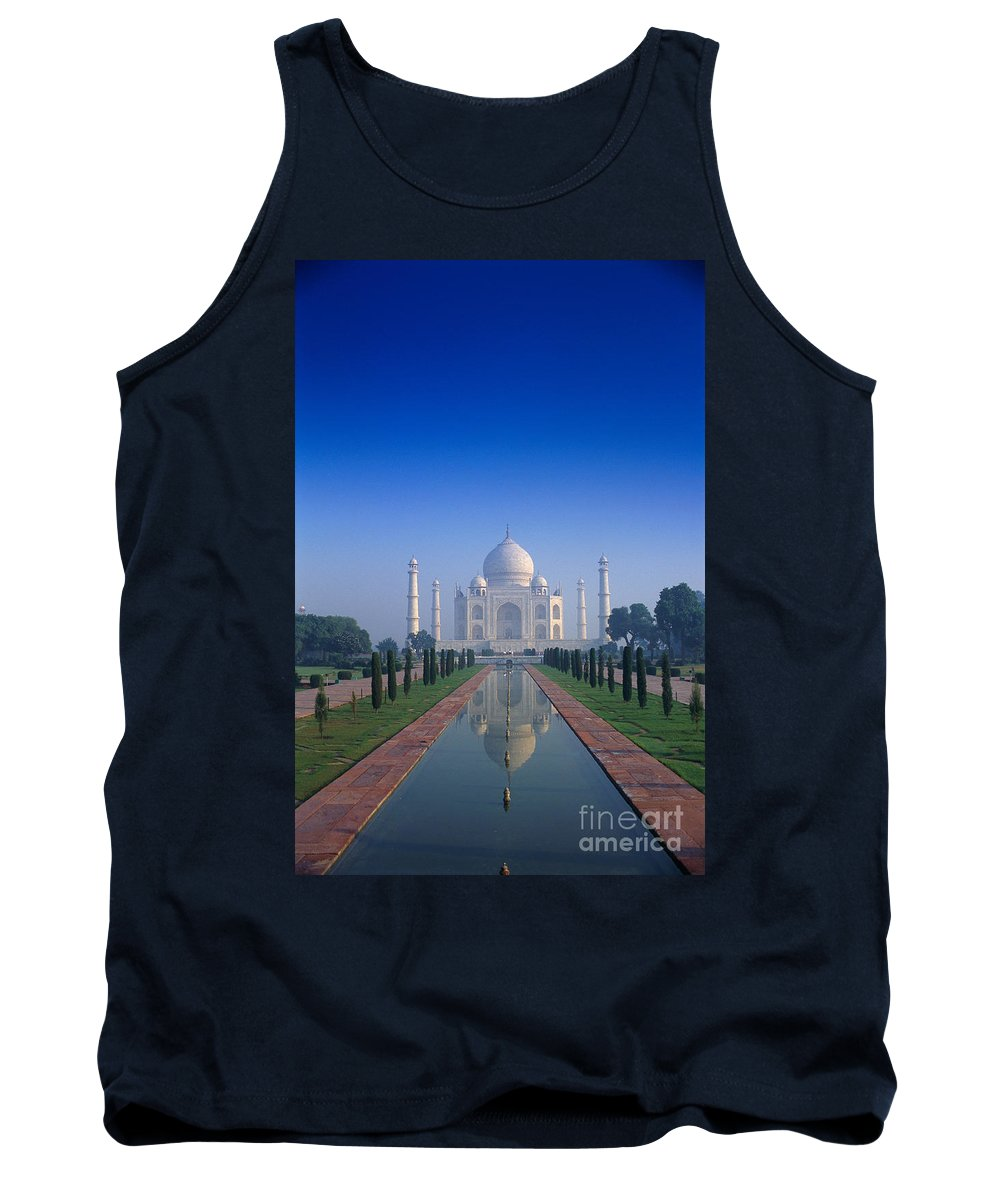 Agra Tank Top featuring the photograph Taj Mahal View by Gloria & Richard Maschmeyer - Printscapes