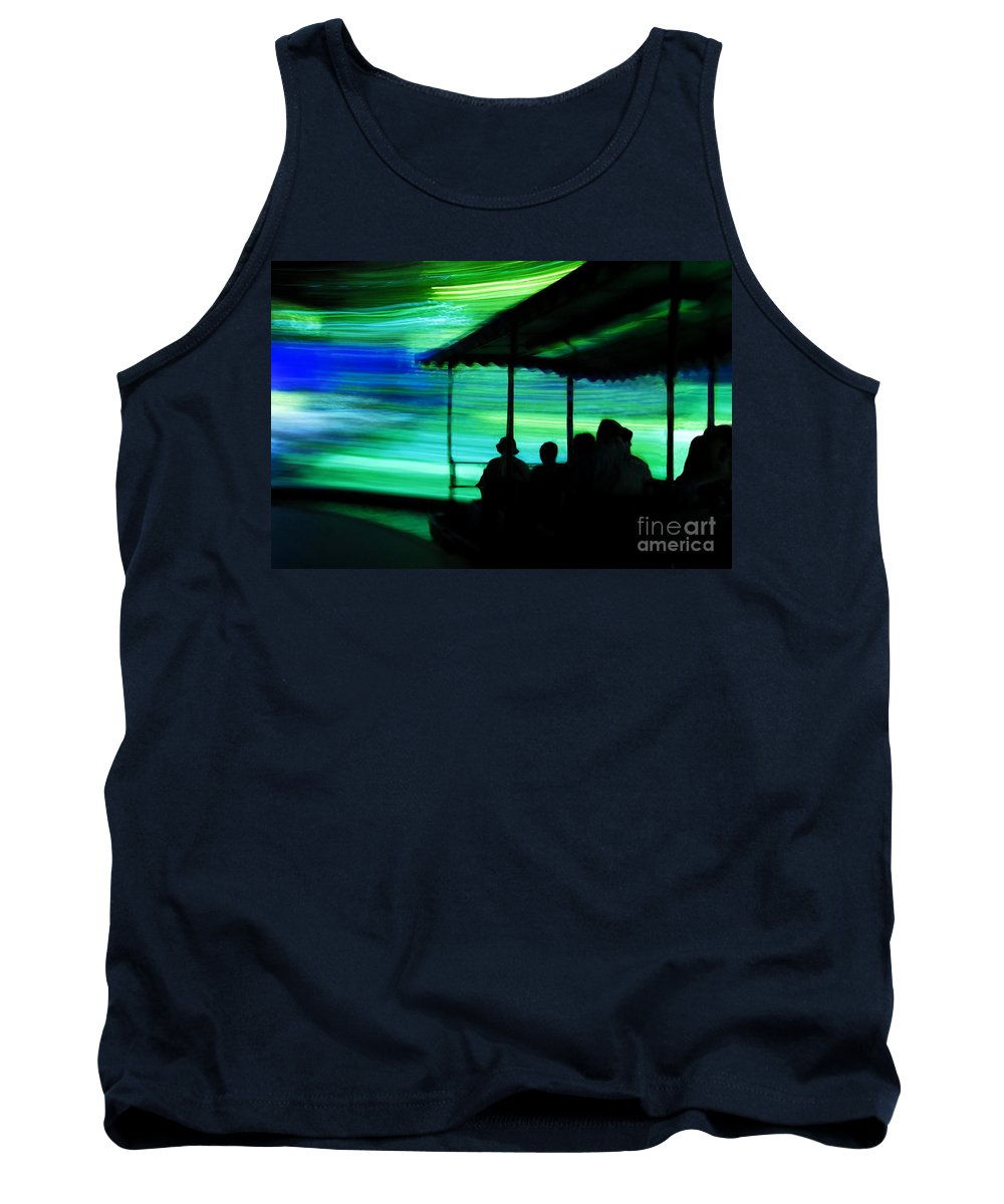 Time Travel Tank Top featuring the photograph A Boat Ride Through Time by David Lee Thompson