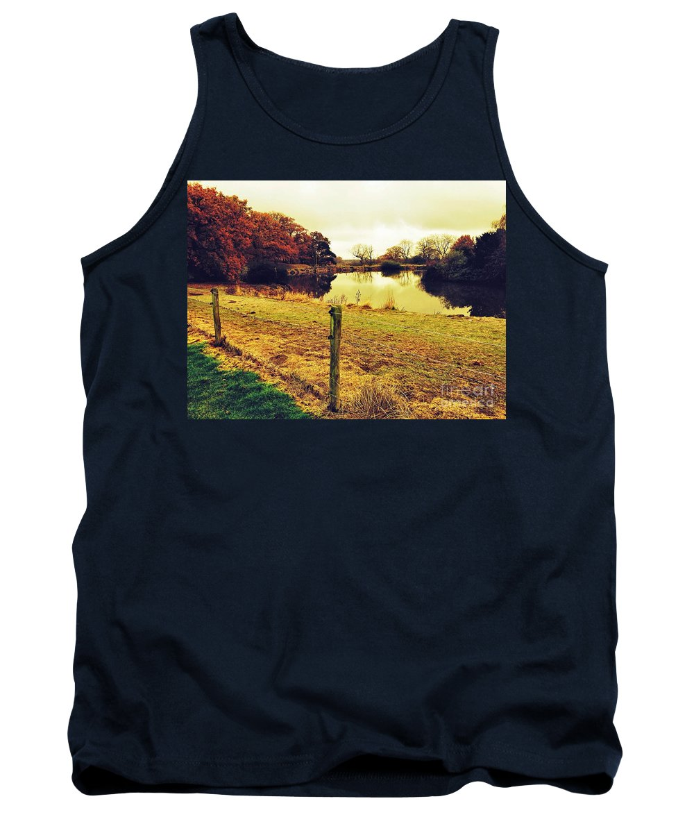 Lake Tank Top featuring the photograph A Quiet Place by Melissa Stephenson