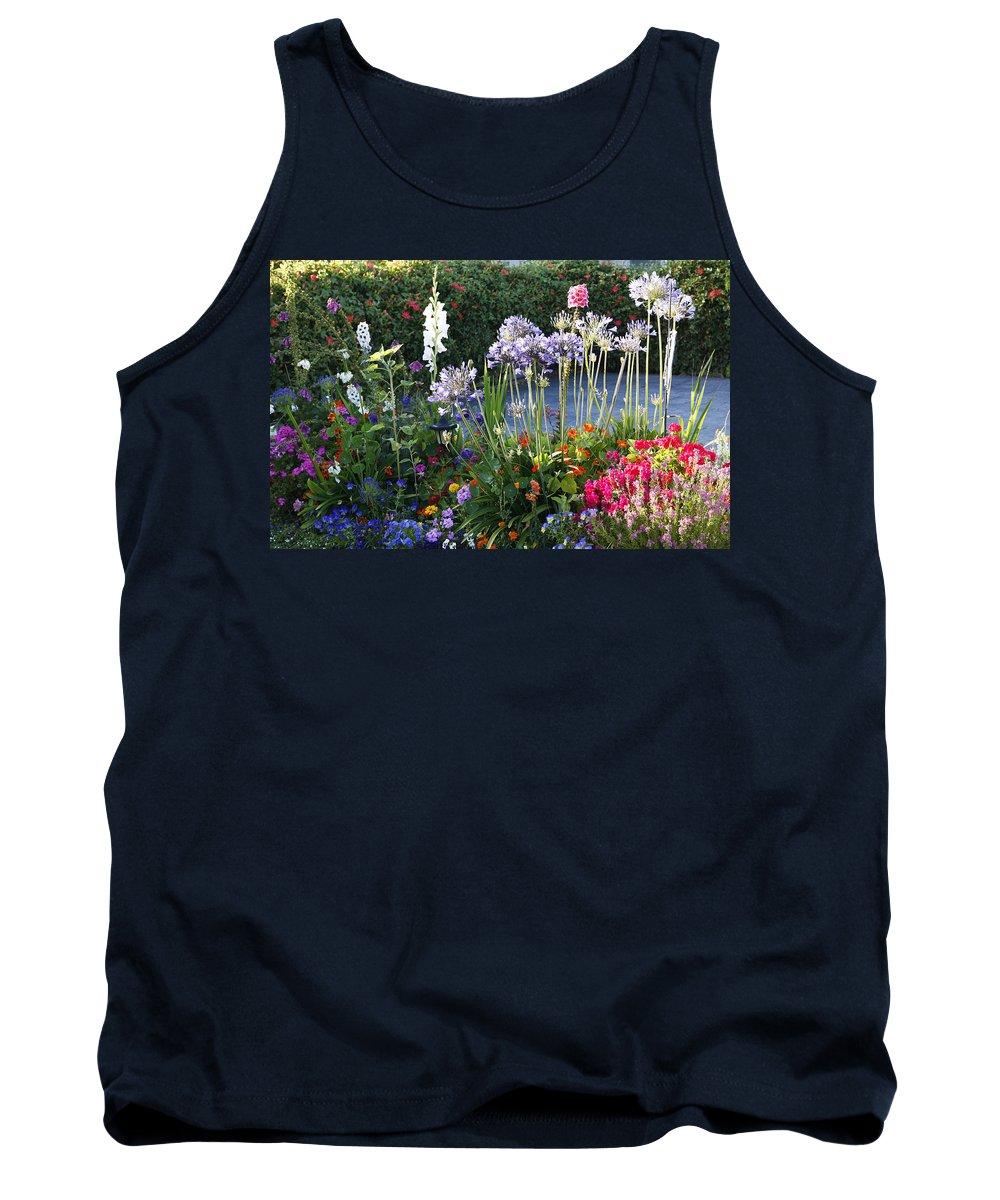 Summer Tank Top featuring the photograph A Summer Garden by Marilyn Hunt