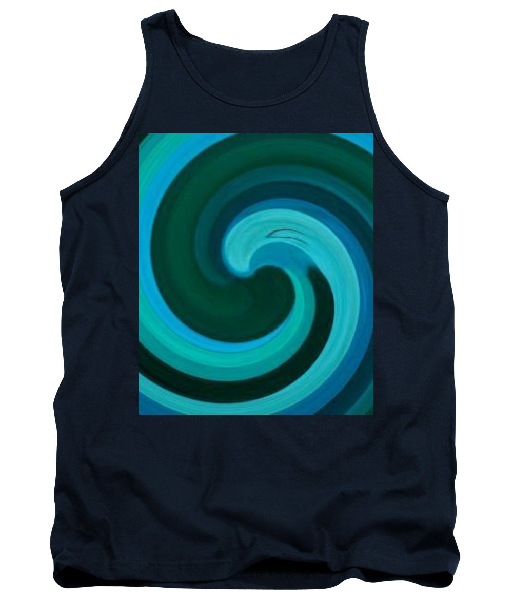 Continuious Tank Top featuring the digital art A77 by Andrew Johnson