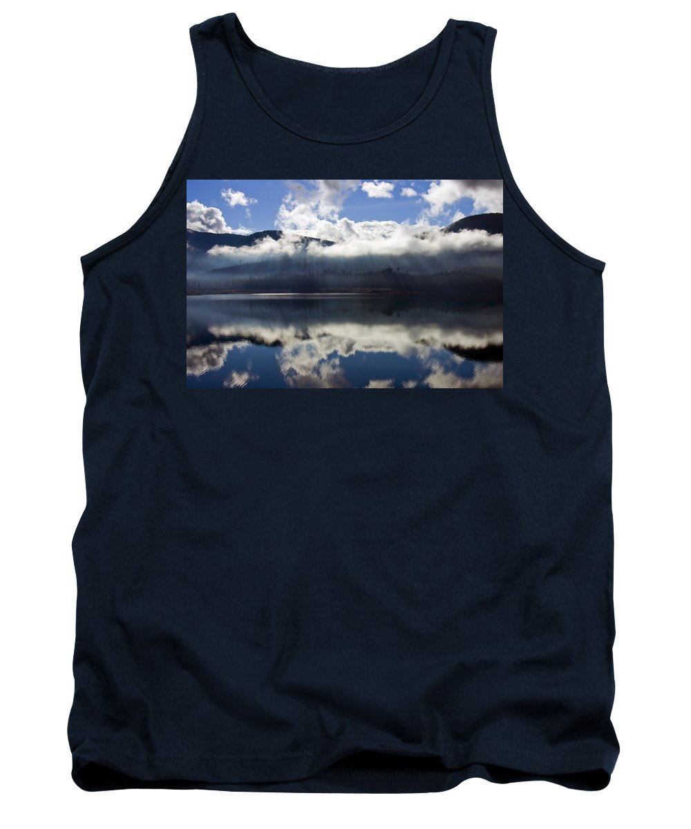 Heavenly Light Tank Top featuring the photograph Almost Heaven by Mike Dawson