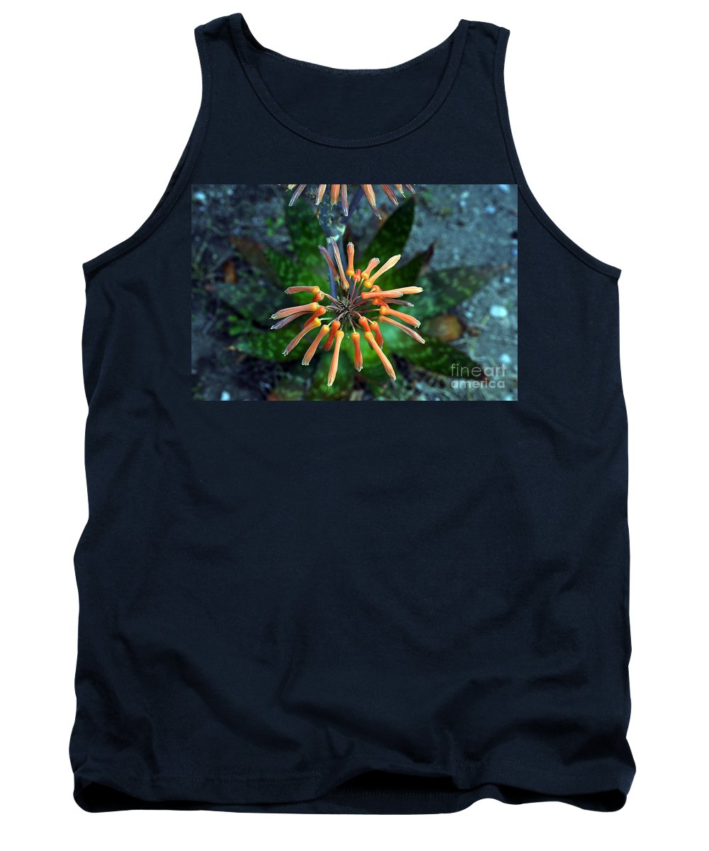 Clay Tank Top featuring the photograph Aloe Vera by Clayton Bruster
