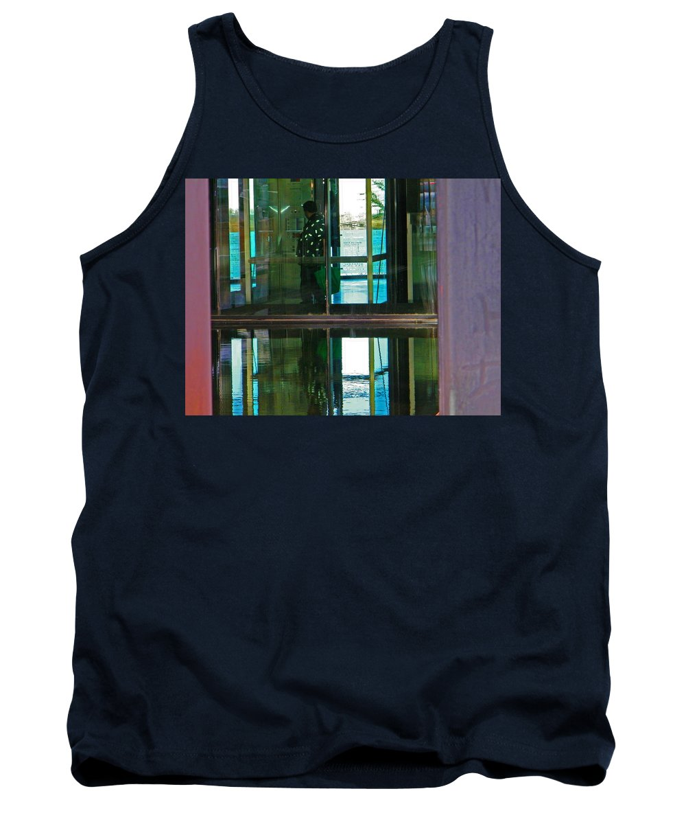 Abstract Tank Top featuring the photograph Alternate Reality 24 by Lenore Senior