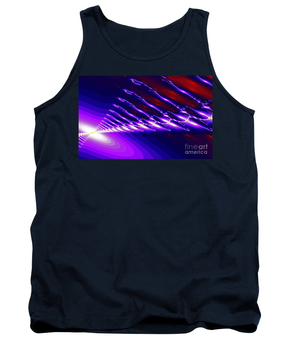 Clay Tank Top featuring the digital art Ambient Noise by Clayton Bruster