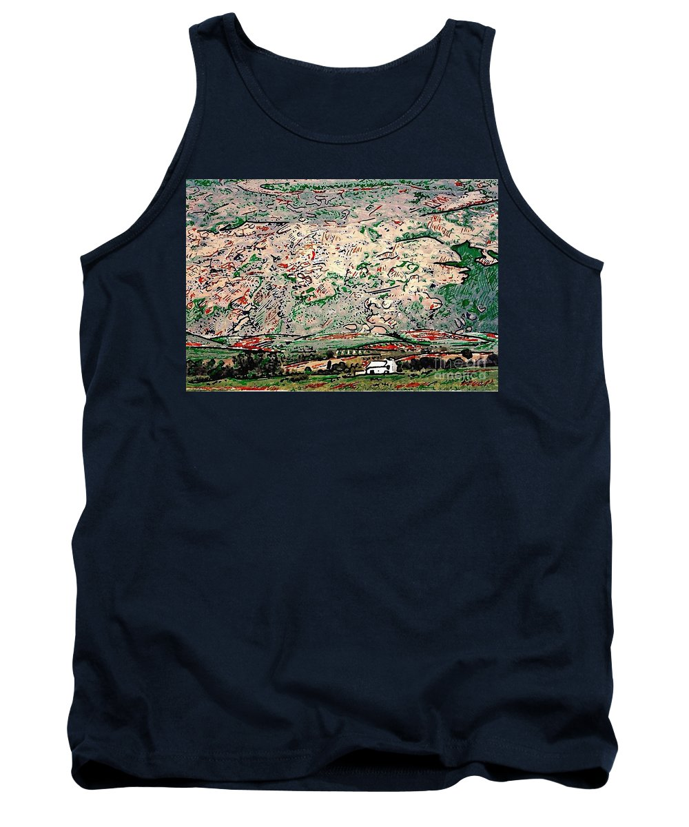 Landscape Tank Top featuring the photograph Andalusia by Sarah Loft