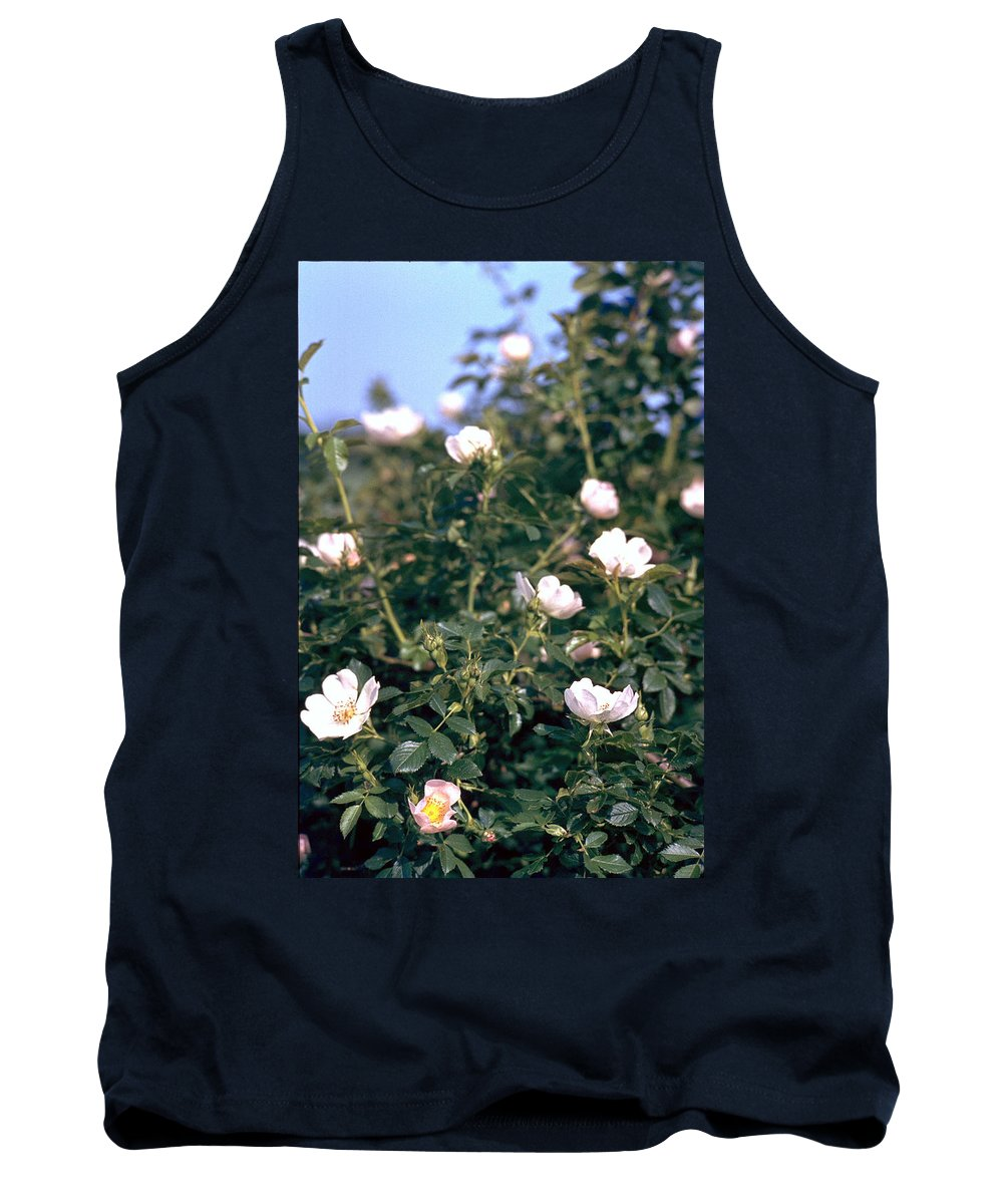 Anemone Tank Top featuring the photograph Anemone by Flavia Westerwelle