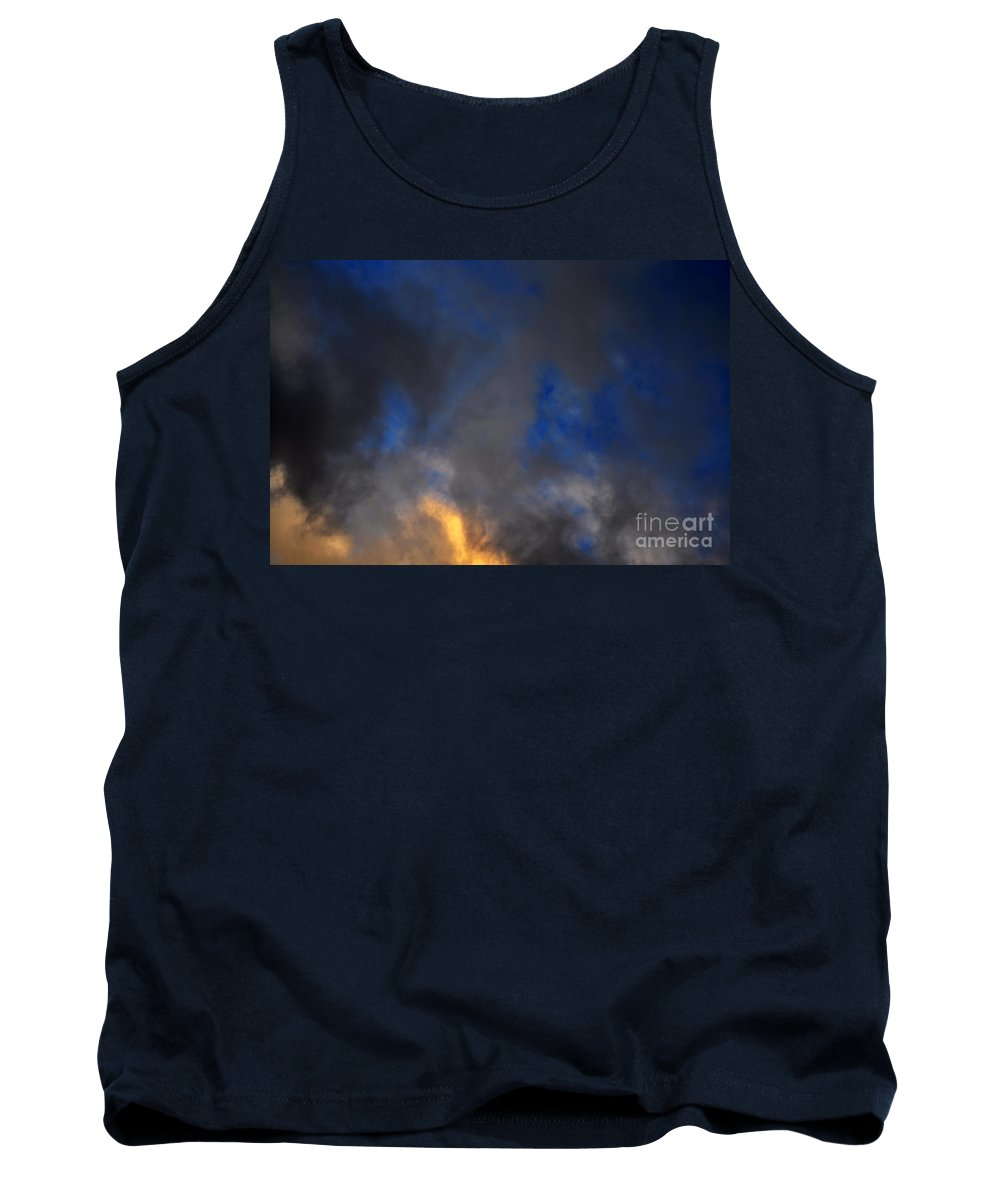 Clay Tank Top featuring the photograph Angry Sky by Clayton Bruster
