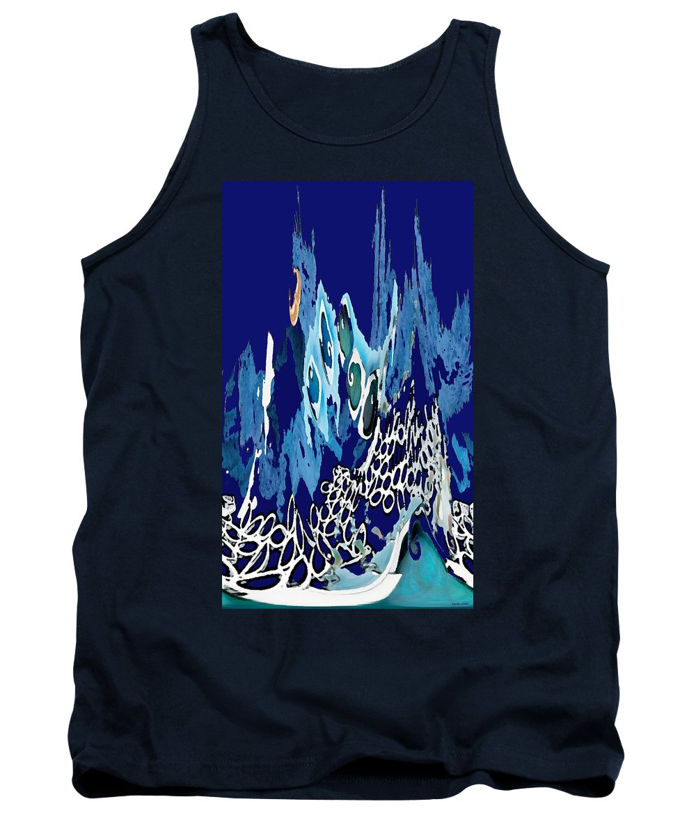 Arctic Sea Tank Top featuring the photograph Arctic Sea by Merja Waters