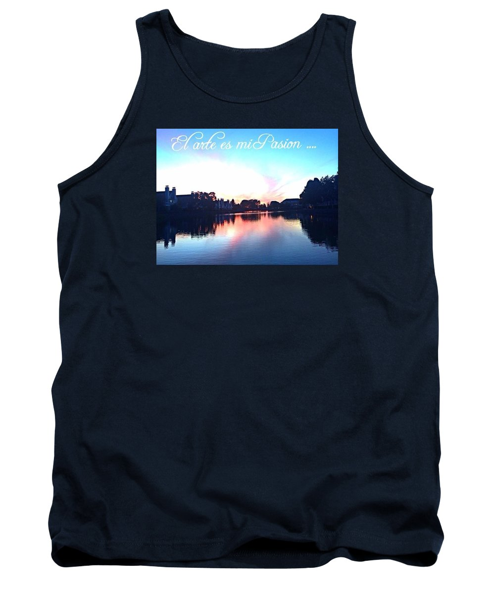 Tank Top featuring the photograph Arte by Marlene Galvez