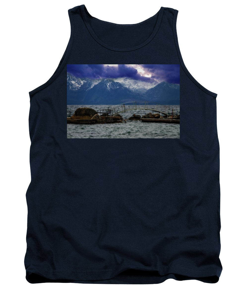 Photography Tank Top featuring the digital art As Evening Draws In by Terry Davis