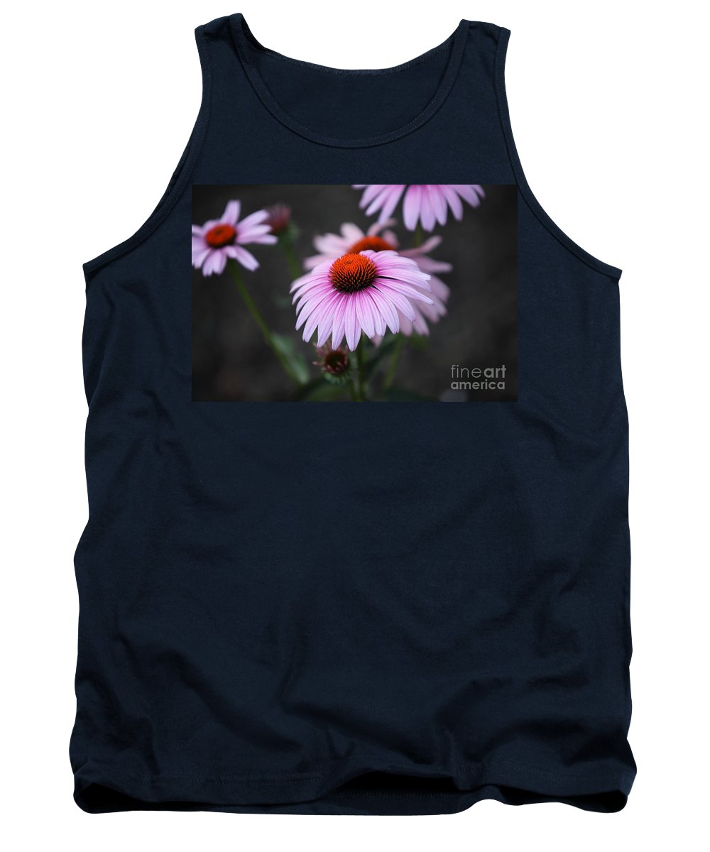 Alan Barcon Tank Top featuring the photograph Backyard Wonders by Amanda Barcon