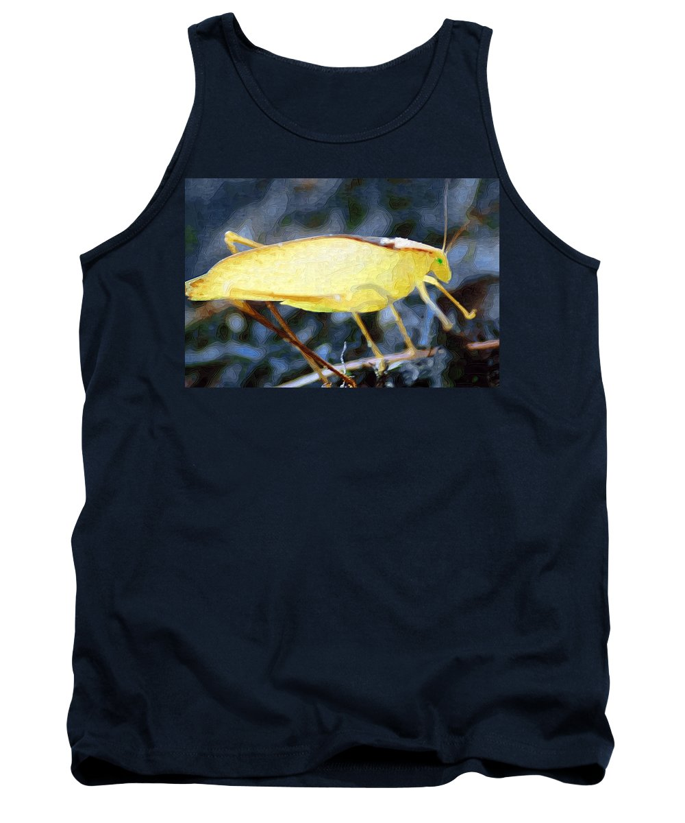 Bug Tank Top featuring the photograph Balancing Act by Donna Bentley
