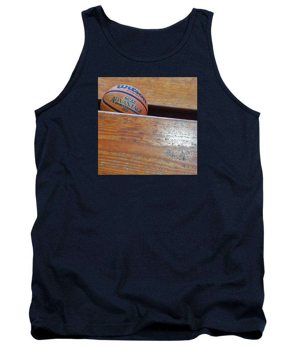 Basketball Tank Top featuring the photograph Basketball by Lisa Cassinari