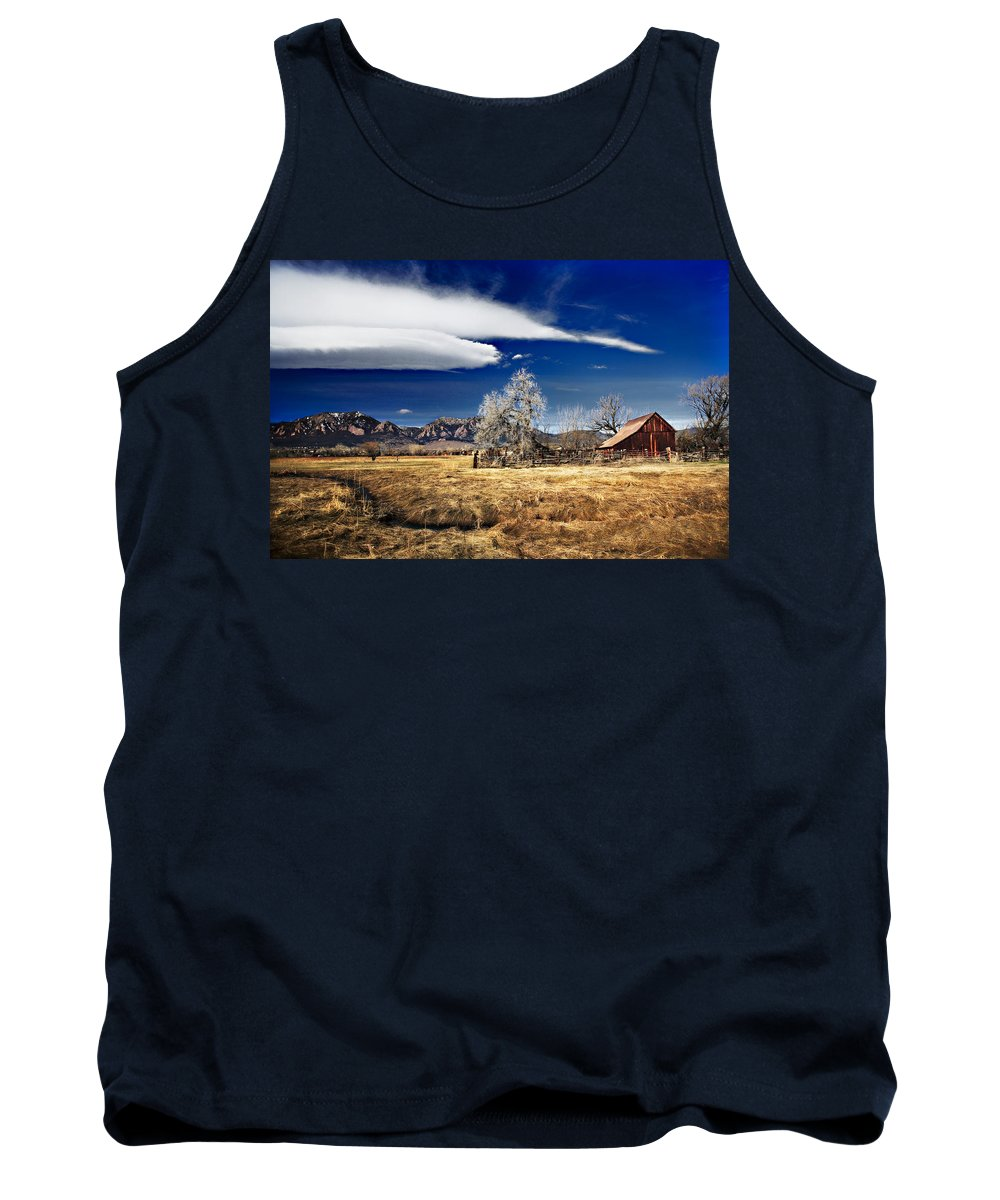 Colorado Tank Top featuring the photograph Beautiful Colorado by Marilyn Hunt