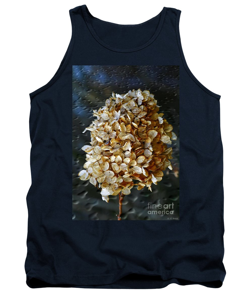 Flower Tank Top featuring the photograph Beauty Of Old by Deborah Benoit