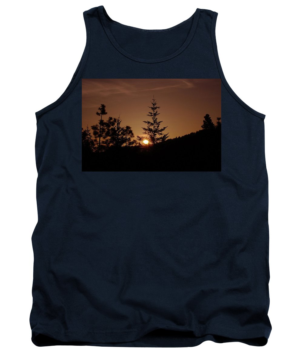 Sunrise Tank Top featuring the photograph Beginnings by Jeff Swan