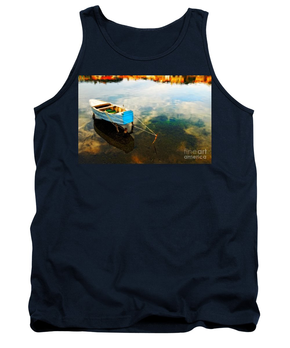 Boat Tank Top featuring the photograph Boat by Silvia Ganora