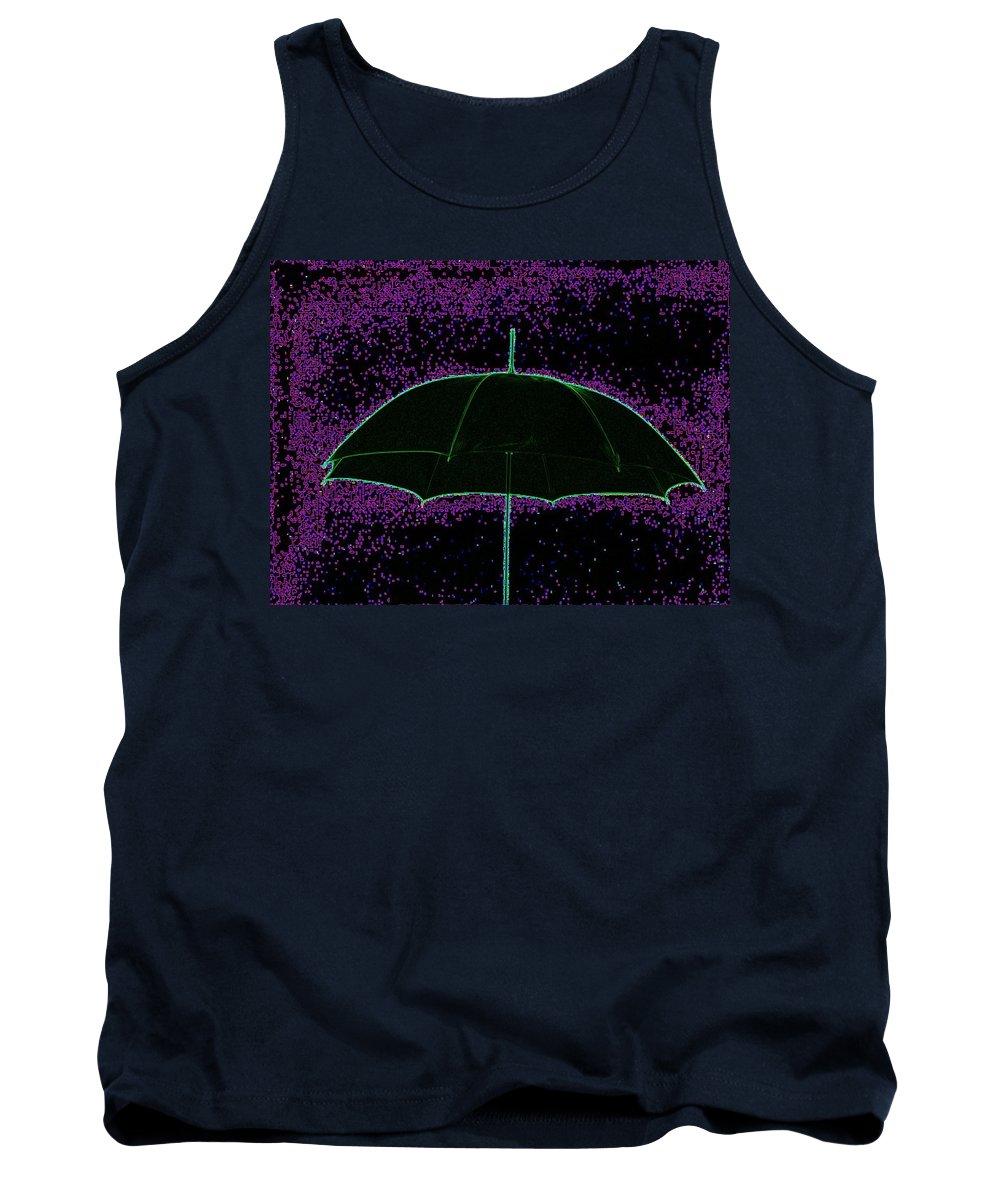 Umbrella Tank Top featuring the photograph Brella by Tim Allen