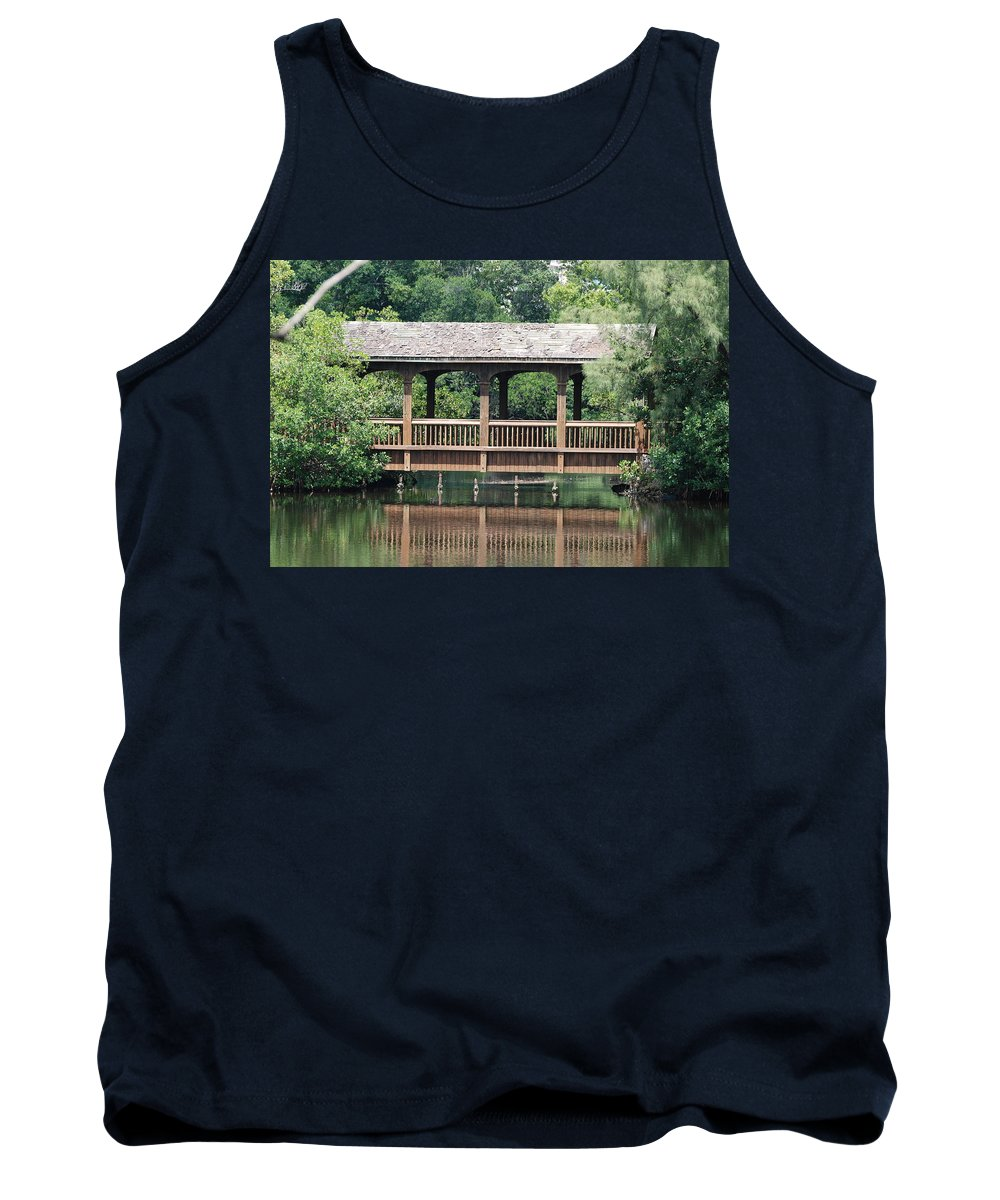 Architecture Tank Top featuring the photograph Bridges Of Miami Dade County by Rob Hans