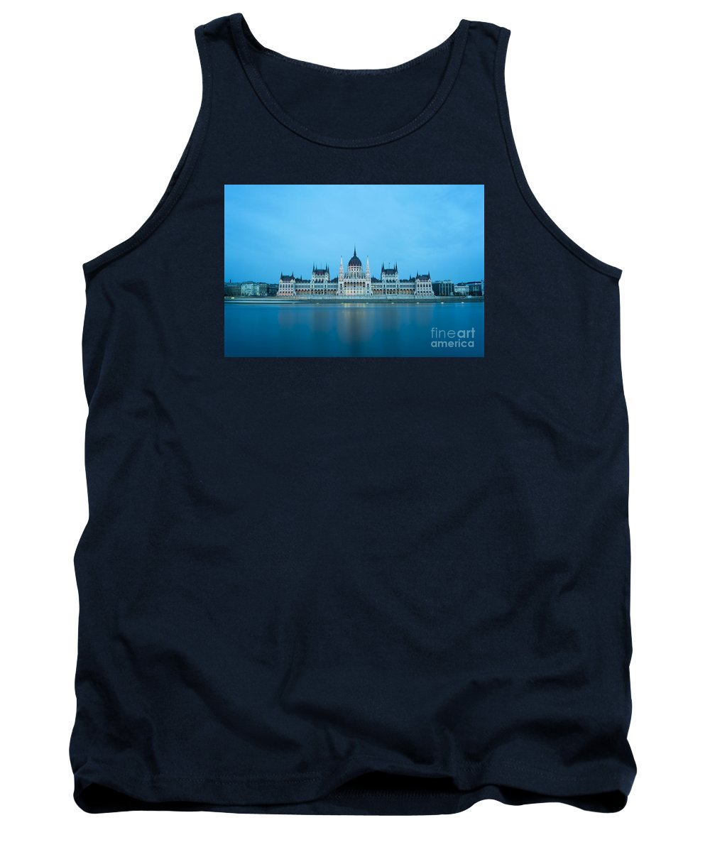 Budapest Tank Top featuring the photograph Budapest Parliament Building by Bojan Bokic